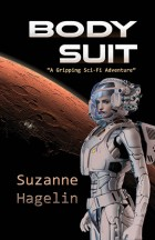 """""""Body Suit"""" a science fiction book cover"""